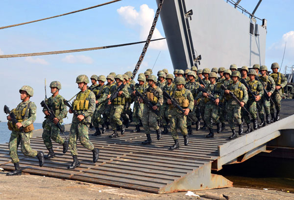 DND wants Marines to remain with Navy