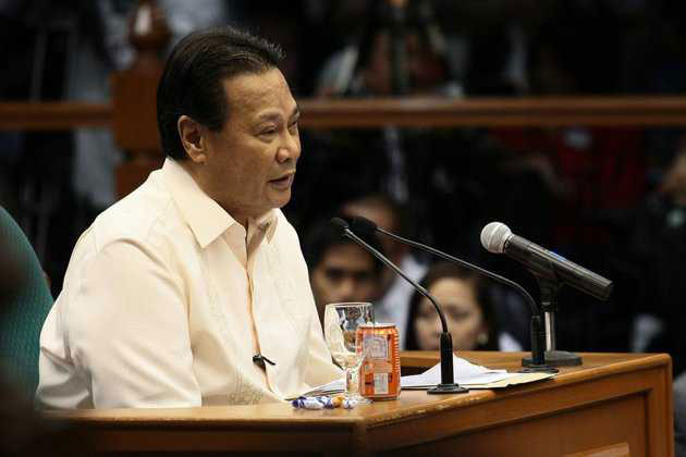 Former Supreme Court Chief Justice Corona succumbed to cardiac arrest on April 29, 2016. Philstar.com/File photo