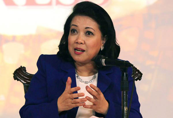 Sereno 'appreciates' Duterte's apology