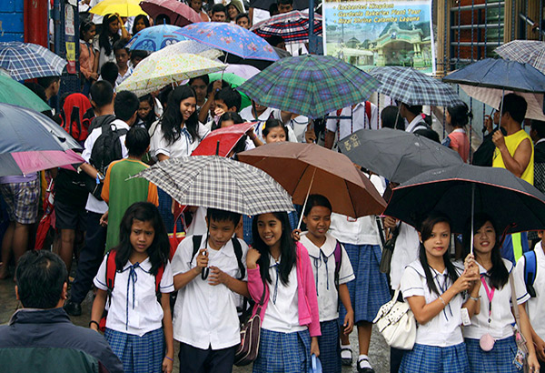 """""""The DepEd has not made any announcement regarding the suspension of classes on Nov. 23, 24 and 27 being circulated by Facebook page Walang Pasok Advisory,"""" it said in a statement. File"""