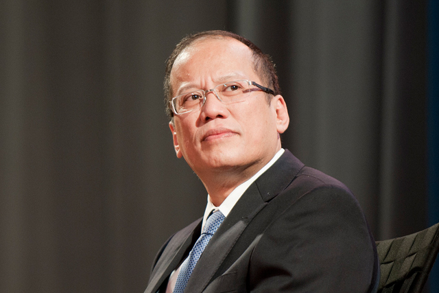 President Aquino said he is proud to have made the Philippines' mark in the Asian region as a resilient economy amid continued uncertainties in the international community. File photo