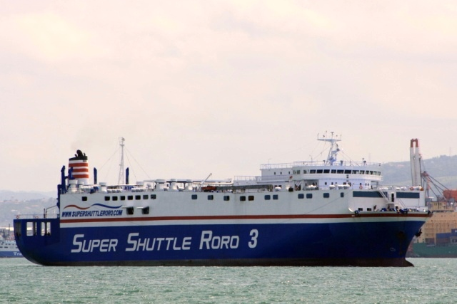 A photo of the M/V Super Shuttle Roro 3 by Vincent Paul Sanchez/CC BY 2.0