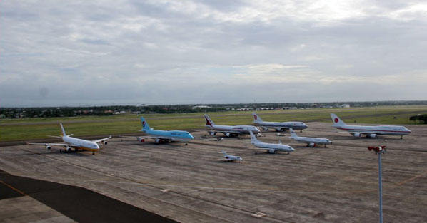 A view of the Mactan Cebu International Airport. MCIAA photo