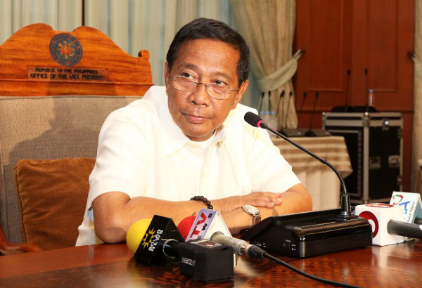 """Vice President Jejomar Binay, said his spokesman Joey Salgado, has chosen to officially launch his presidential bid at the Welfareville compound """"to be with the Filipino poor."""" The opposition party's miting de avance will start at 3 p.m. Philstar.com/File Photo"""