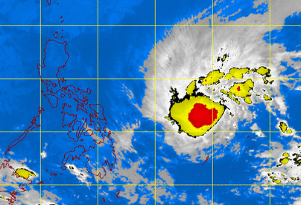 Satellite image courtesy of DOST-PAGASA