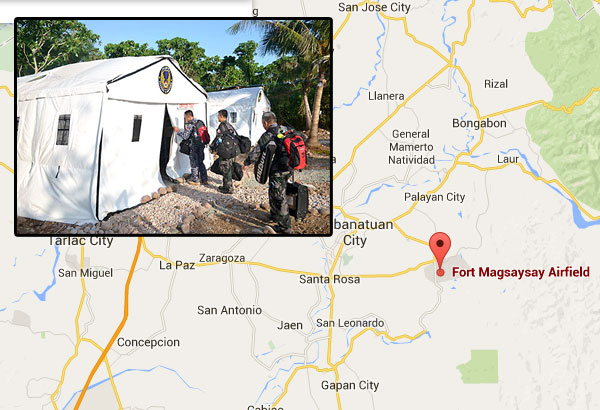 AFP lets officials decide on plan to turn Fort Magsaysay into
