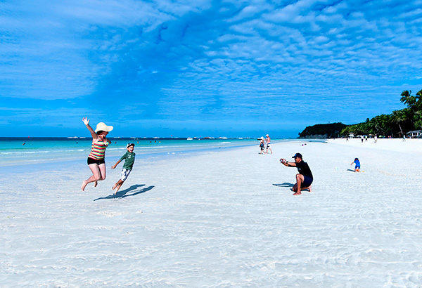 Boracay island is considered as one of the top tourist destinations in the country.