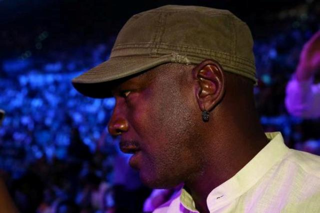 NBA legend Michael Jordan was spotted in the audience at the showdown of Floyd Mayweather Jr. and Manny Pacquiao in Las Vegas on Sunday, May 3, 2015 (Manila time). Top Rank/Released