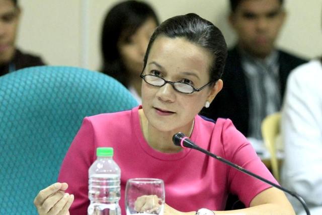 Sen. Grace Poe, co-sponsor of the bill to create a national school feeding program, said the Senate should make it a priority measure.Senate PRIB/Albert Calvelo
