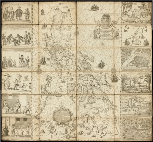 Philippines to submit 300yearold map to UN in case vs China