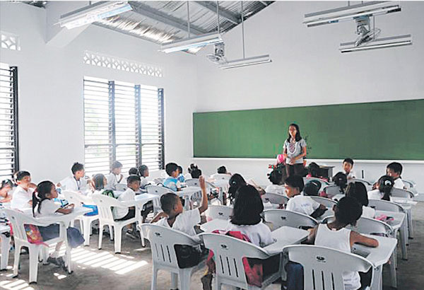 Deped Standard Classroom Design : P b for school buildings unused headlines news the