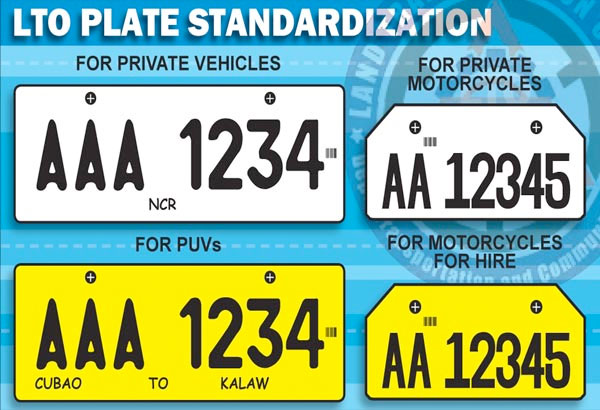 Hire Car Number Plates