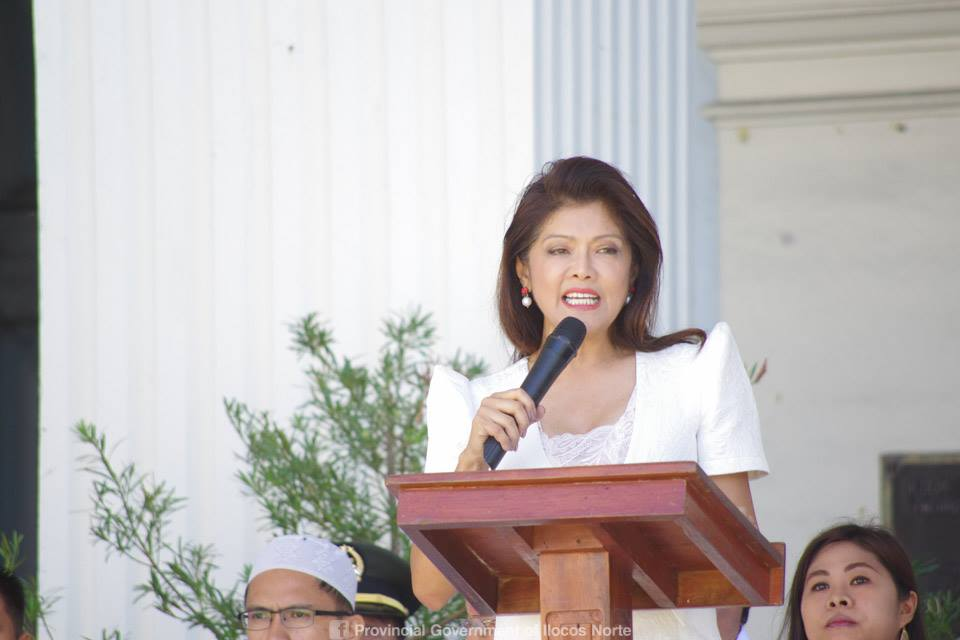 Ilocos Norte Gov. Imee Marcos ordered the preventive suspension against a chief nurse of a local hospital after complaints of grave coercion and misconduct. Facebook.com/Imee Marcos