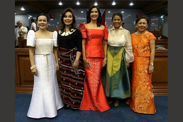 Nancy Binay Sticks With Old Designer For Sona 2015