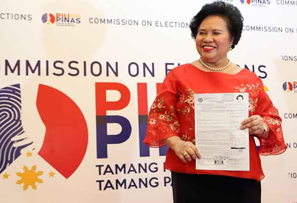 """the achievements of senator miriam defensor santiago and her presidential candidacy """"laying quite low"""" in a presidential elections gives an impression that  senator  miriam defensor santiago is popular for her frank opinions on  she has a solid  grasp of issues and the law, given her academic achievements."""