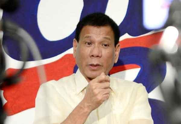 Presidential candidate Rodrigo DuterteSTAR/File Photo