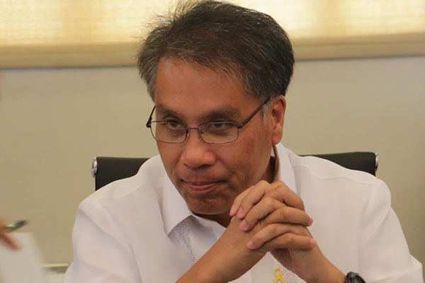 Mar Roxas was the head of DILG when Typhoon Yolanda struck the country two years ago. Philstar.com/Efigenio Toledo IV