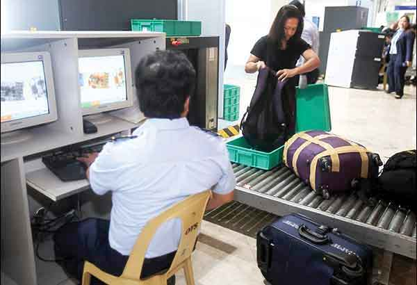 Newly appointed Customs District Collector Vincent Philip Maronilla said x-ray machines would be installed to scan the baggage of arriving passengers. Rudy Santos/Philstar.com/File Photo