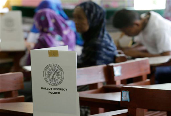 """""""If you think that the elections in Mindanao should not be postponed, please come and tell the Comelec,"""" the poll body's spokesman James Jimenez said. Philstar.com/File Photo"""