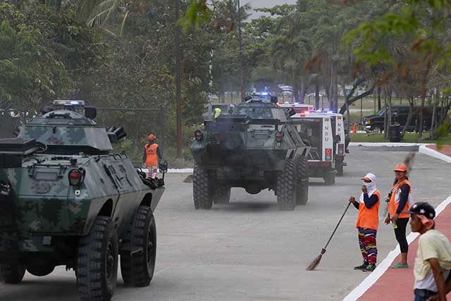 amphibious vehicles boost global philippine effort