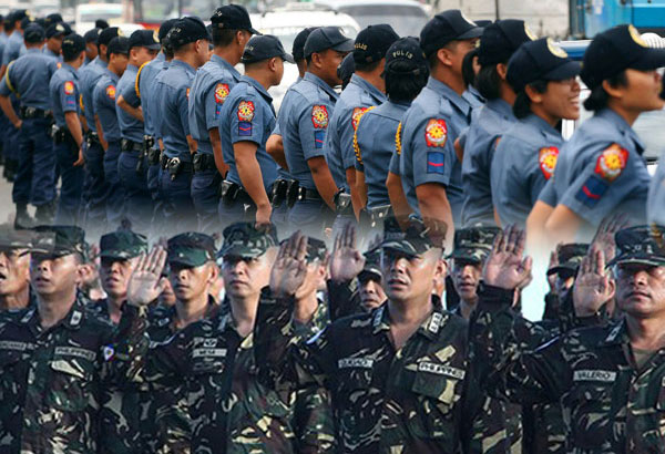 Poll shows record-high trust for AFP, PNP