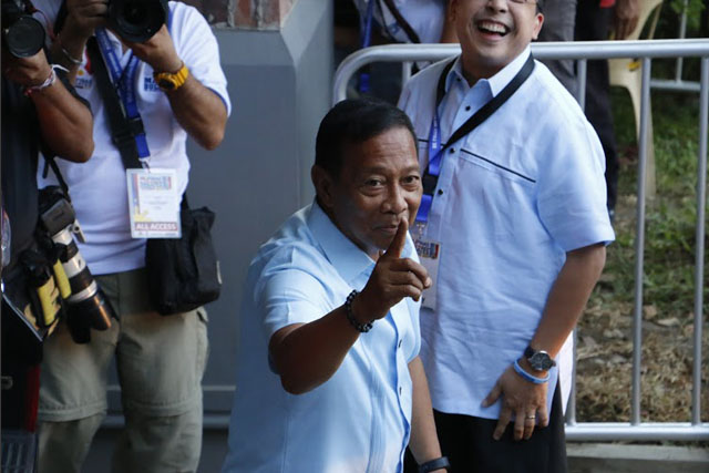 "According to a political analyst, Vice President Jejomar ""Jojo"" Binay is the most experienced candidate to succceed the presidency. Philstar.com/Efigenio Toledo IV"