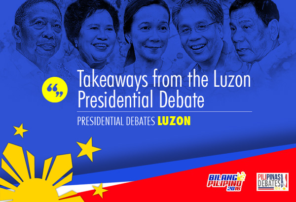 Candidates try to one-up each other in the last presidential debate before elections.