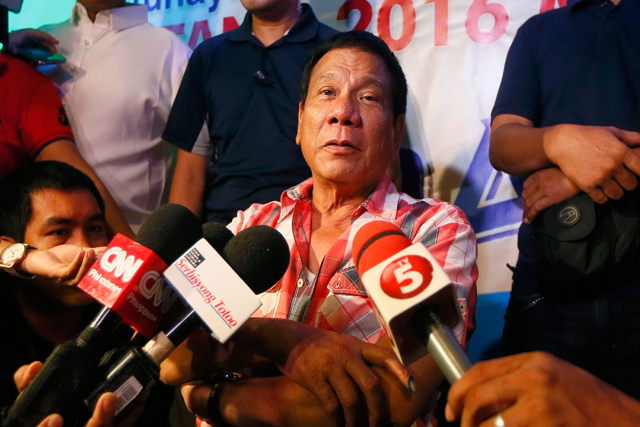LIST: Duterte names possible Cabinet members | Headlines, News ...