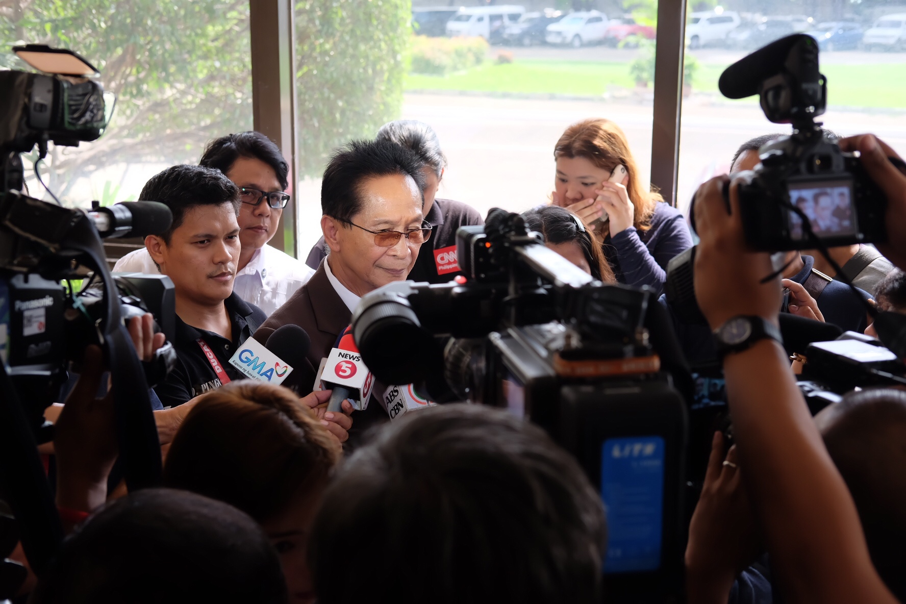 """""""Even if he was a drug runner, you cannot just kill somebody like that,"""" Panelo said in an interview with state-run Radyo Pilipinas. Philstar.com/Denison Rey Dalupang, file"""