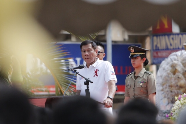 Duterte warned he would lift the ceasefire if the Communist Party of the Philippines-New People's Army-National Democratic Front (CPP-NPA-NDF) ignored his call for the rebels to match the suspension of offensives. Philstar.com/AJ Bolando