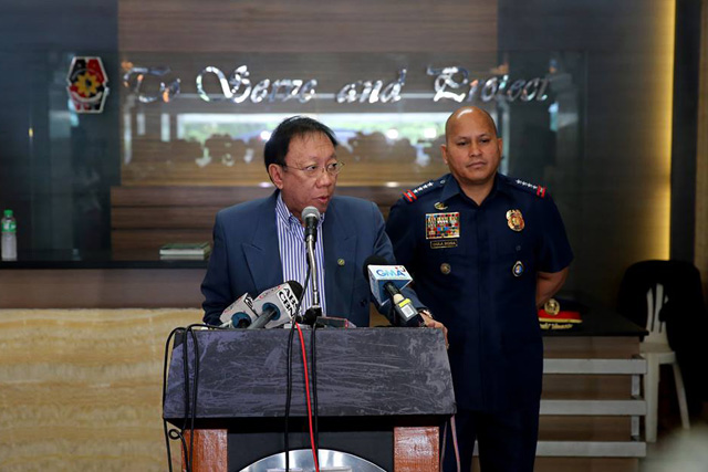 The Supreme Court will resume tackling the petitions against President Rodrigo Duterte's drug war on November 28. Key officials in the drug war are expected to defend the bloody campaign before the justices.File