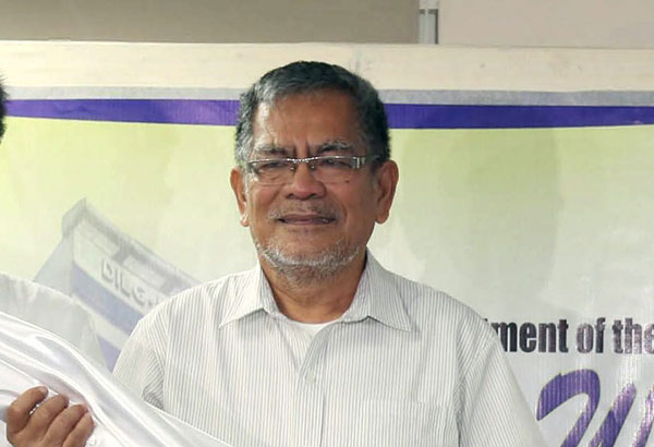 """""""There's prima facie evidence for a trial, to start a trial,"""" Sueno said, citing findings by the National Police Commission (Napolcom), which is under his department. STAR/File photo"""