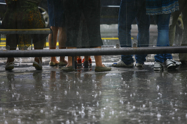 NDRRMC executive director and Office of Civil Defense (OCD) chief Ricardo Jalad said despite moderate rains, the prevailing weather system was expected to cause flooding in theCabuyan, Bato and Pajo river channels in Catanduanes. File photo
