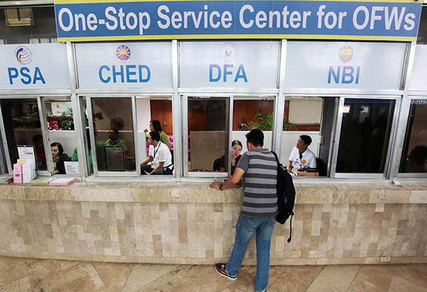 POEA offers exemption in OEC upon Duterte's order
