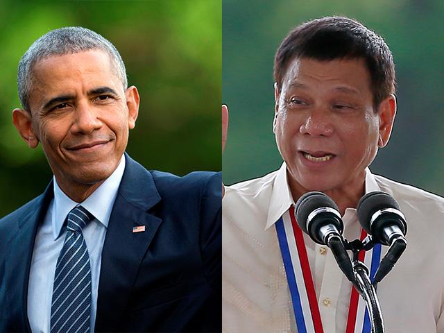 Image result for Obama AND President Rodrigo Duterte