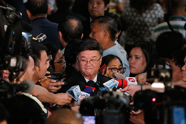 """Impeachment involves the power and discretion of Congress, so it will be a congressional call, not the President's call,"" Justice Secretary Vitaliano Aguirre II explained in an interview yesterday. Philstar.com, file"