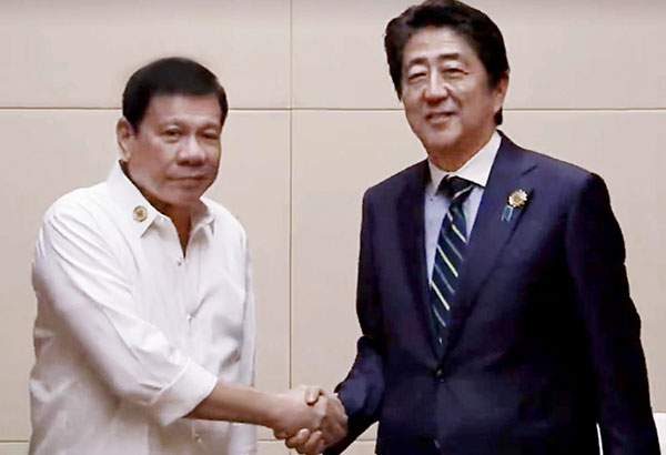 President Rodrigo Duterte arrives in Japan today to begin a three-day state visit aimed at enhancing diplomatic relations and reaffirming the strategic partnership between Manila and Tokyo. File Photo