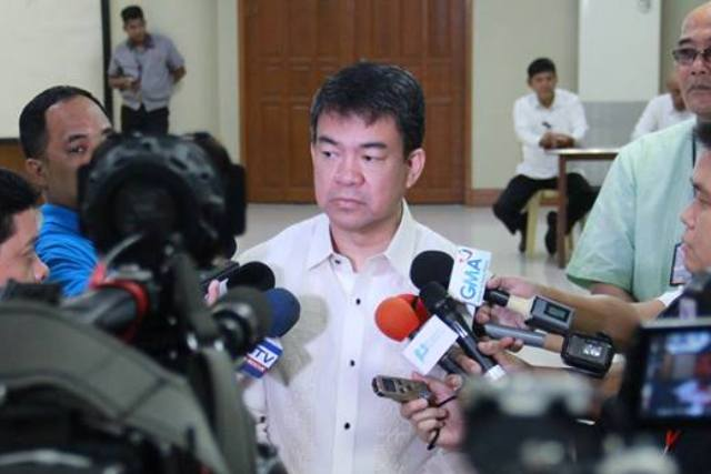 "Senate President Aquilino Pimentel III said the emergency powers bill got stalled in the chamber as lawmakers got ""mixed signals"" from Malacañang on whether or not the measure is still a priority of the administration. Koko Pimentel/Released, File"