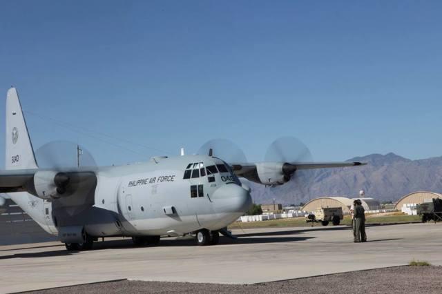 New C-130 plane arrives from US | Headlines, News, The Philippine Star | philstar.com