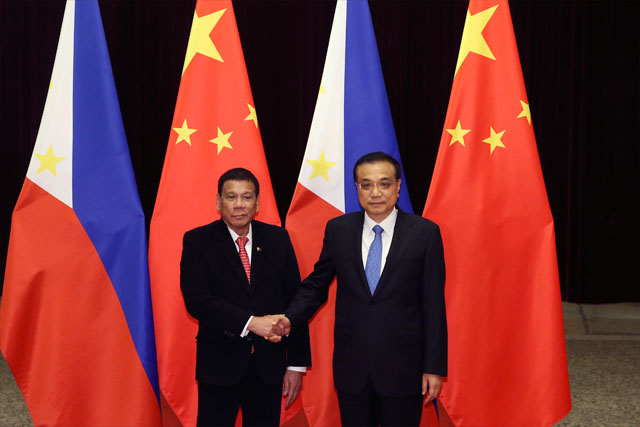 PH, China sign defense cooperation, 13 other deals