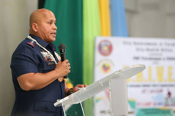 Philippine National Police chief Director General Ronald dela Rosa, however, said he would assess the situation and confer with his 17 regional directors before making his recommendations to President Rodrigo Duterte. PNP-PIO/File