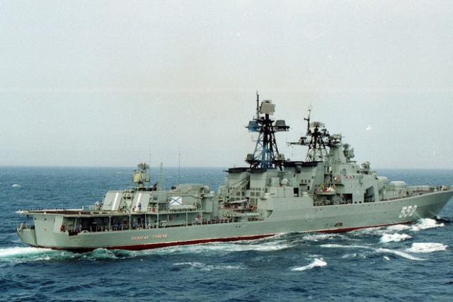 Russian Federation sends two warships to Manila for drills with Philippines