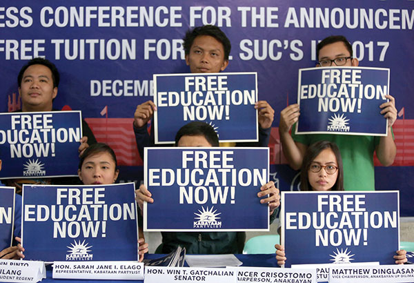 Free tuition law a victory for present, future generations ...