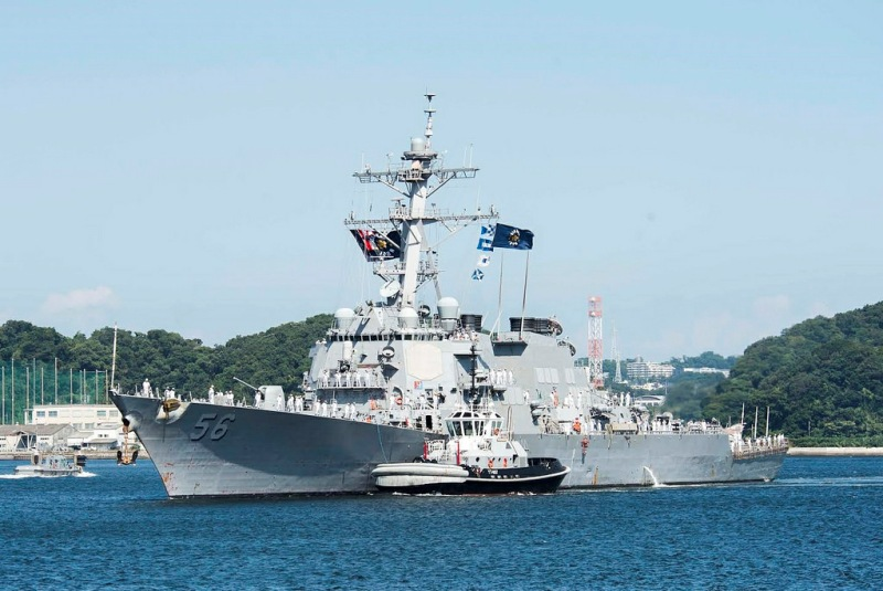 US destroyer challenges China's claims in South China Sea