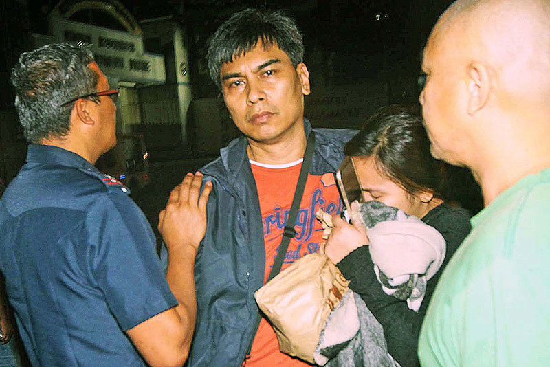 """An arrest warrant was already issued in January against Superintendent Rafael Dumlao but he resisted the arrest. He argued that the court order is invalid since the name indicated was only """"alias Dumlao."""" STAR/Boy Santos, file"""