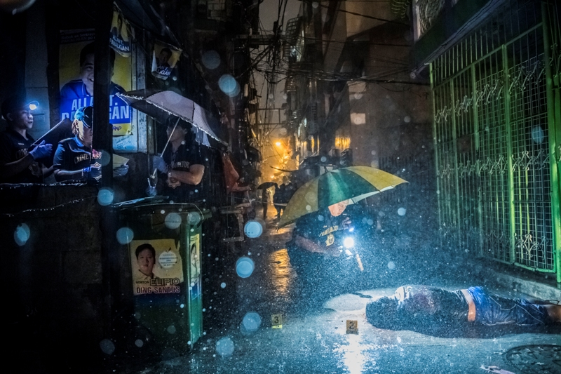 London-based Amnesty International on Saturday claimed that drug-related killings are still happening despite the government's designation of the Philippine Drug Enforcement Agency as the lead office in the war on drugs. Daniel Berehulak for The New York Times/World Press Photo via AP, File