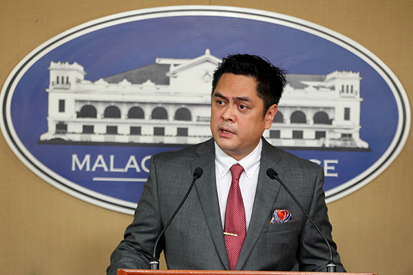 Presidential Communications Secretary Martin Andanar said no one could predict the next moves of the terrorists, who are reportedly regrouping and recruiting new members. Ace Morandante/Presidential Photo, File