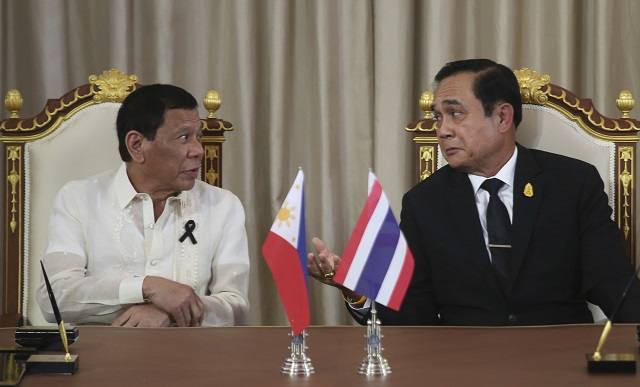 Duterte received assurance from China it won't build structures in Panatag