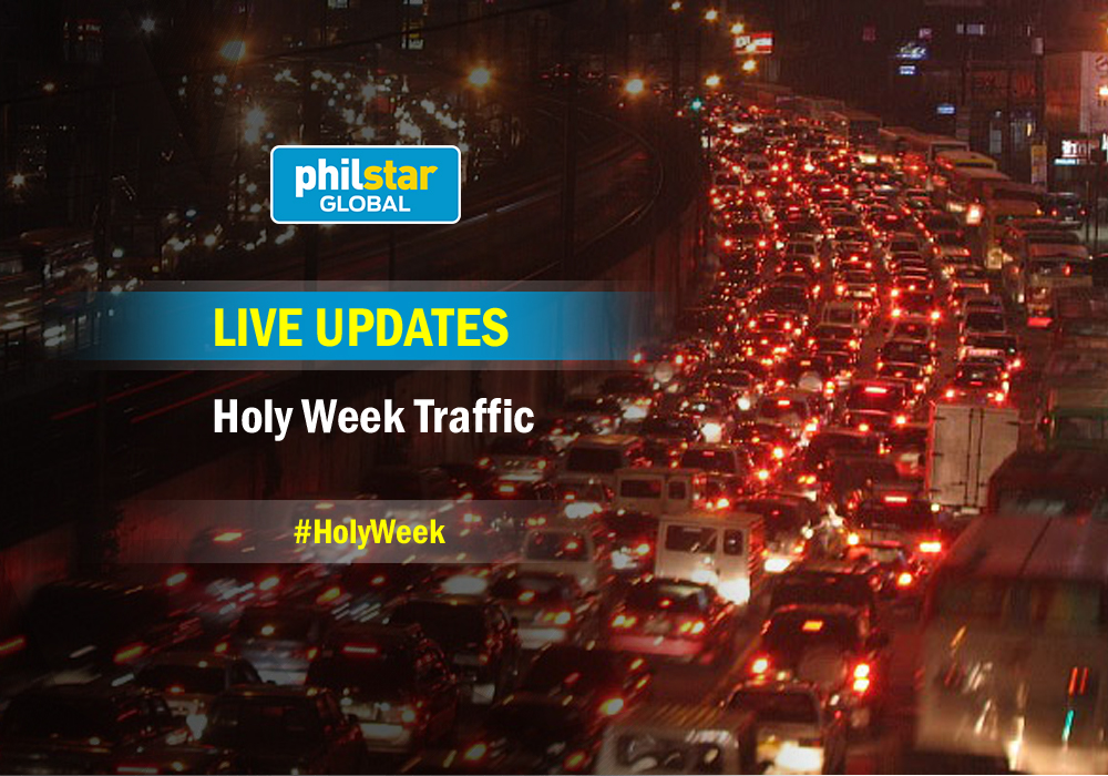 Be updated with the live traffic situation over the Holy Week. Philstar.com/File