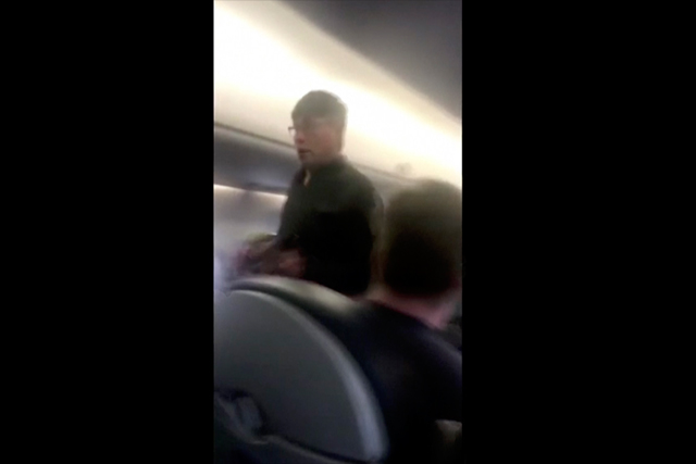 Video Shows United Passenger Forcibly Removed From Flight